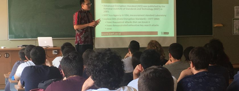 D3 Computer Technology lecturer gave a guest Lecture in Barcelona Spain